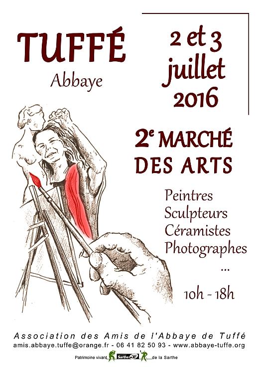 Affiche Marché des Arts 2016